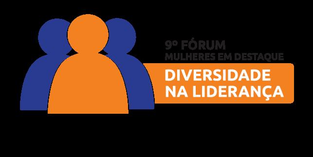 Logo Fórum Mulheres em Destaque - Diversidade na Liderança